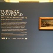 Turner and Constable at the Laing