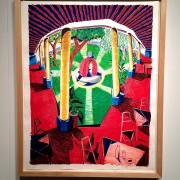 Hockney at the Bowes