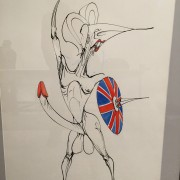 Gerald Scarfe at the Bowes