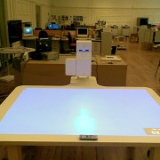 Interactive pen tables