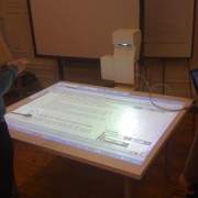 Interactive pen table